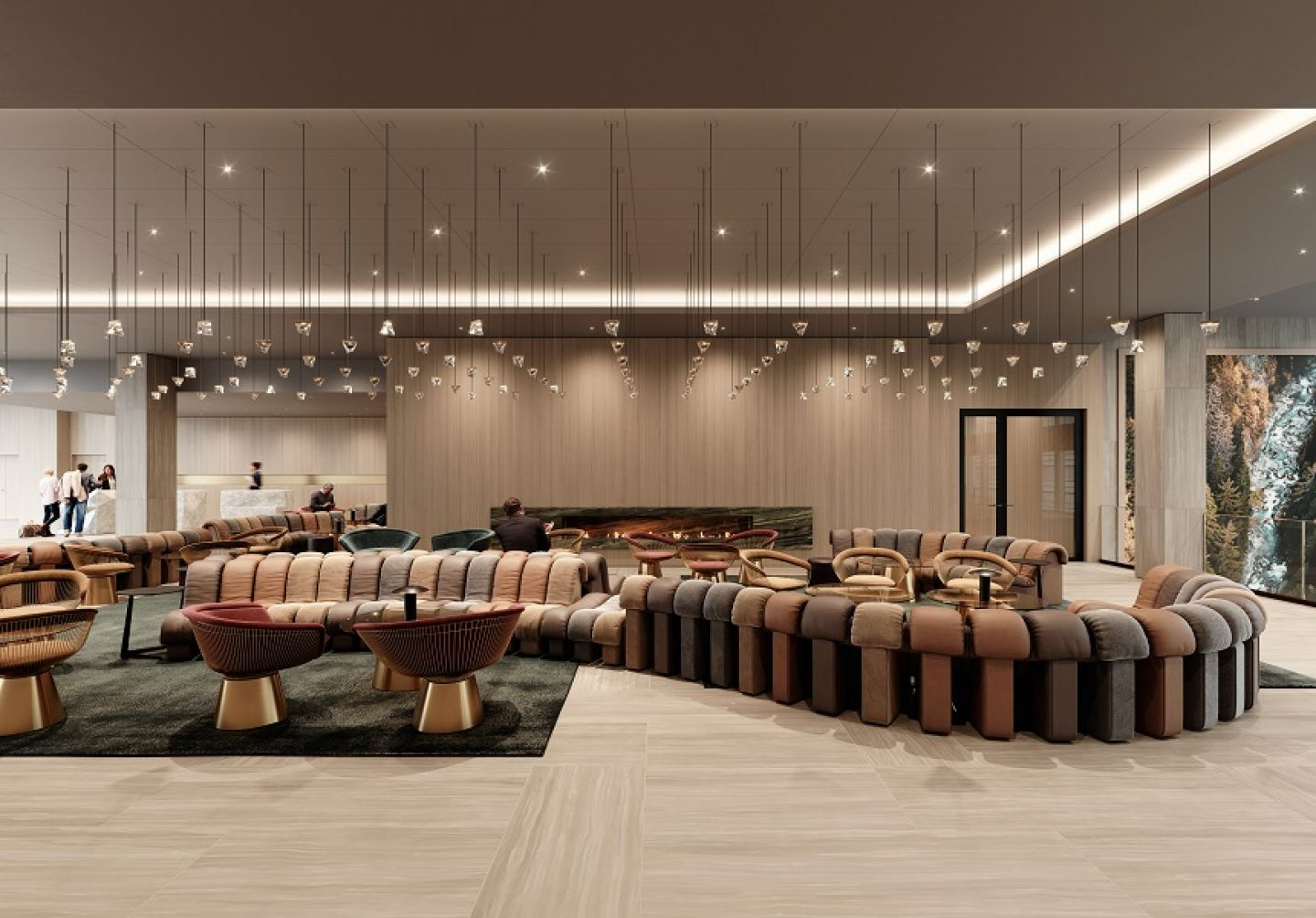 <p>Hyatt Regency Zurich Airport The Circle - Convention Hall - MICE Service Group</p>